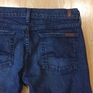 7FAM flare jeans sz 30 inseam 32 VGUC comfortable